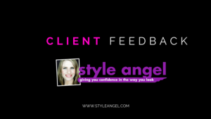 Sydney Personal Stylist Style Angel Angela Barbagallo Client Review