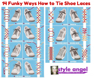 Cool ways to lace your shoes on Pinterest | Lace, Shoes and Ties