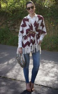 Wear your Poncho in Different Ways