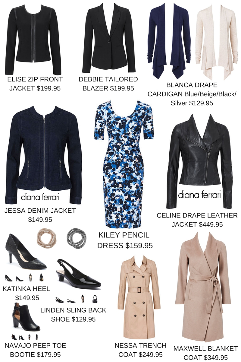 Diana Ferrari - 1 dress - 9 different Autumn & Winter 2016 ways to wear it