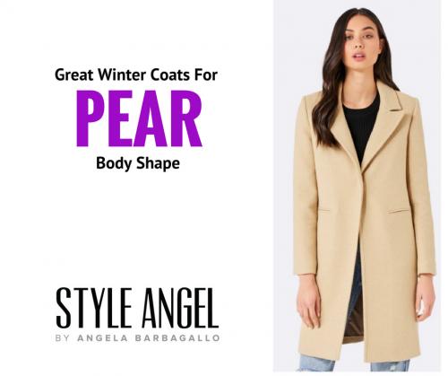 Pear Body Shape Winter Coats