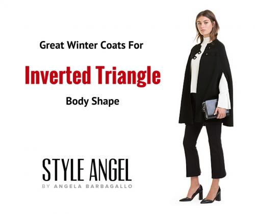Inverted Triangle Shape Winter Coats