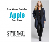 Apple Body Shape Winter Coats