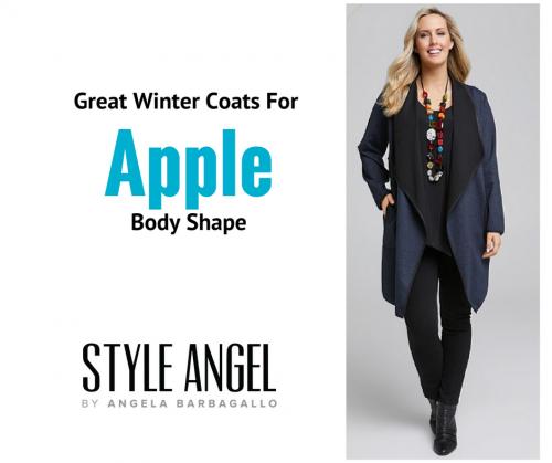 Apple Shape Winter Coats