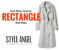 Rectangle Body Shape Winter Coats
