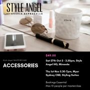 Style Angel Masterclass – Learn all you need to know about accessories